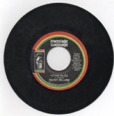 SALE ITEM - Delroy Williams - I Stand Black / Blackman Dub (Message) JA 7""